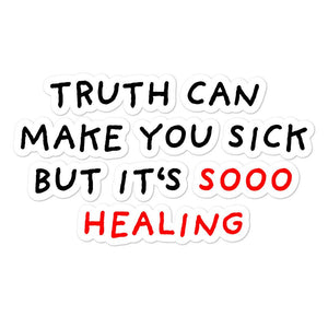 Truth Is Healing | Bubble-free stickers-stickers-Eggenland