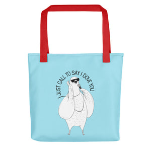 "Dove singing ""I Just Called To Say I Love You"" 