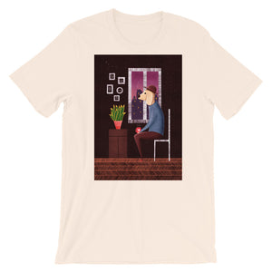 Charlie Waiting For Love | Short-Sleeve Unisex T-Shirt-t-shirts-Soft Cream-S-Eggenland