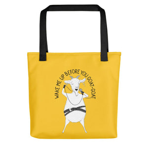 "Goat singing ""Wake Me Up Before You Go-Go"" 