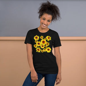 Blooming Flowers | Short-Sleeve Unisex T-Shirt-t-shirts-Eggenland