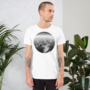 Dugongs Can Hold Their Breath For 6 minutes | Short-Sleeve Unisex T-Shirt-t-shirts-Eggenland