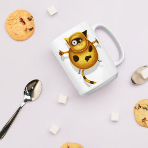 Fat Cat | Mug-mugs-Eggenland