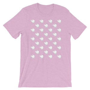 Cute Cat Pattern | Short-Sleeve Unisex T-Shirt-t-shirts-Heather Prism Lilac-S-Eggenland