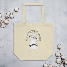 "Load image into Gallery viewer, Goat Singing ""Wake me up before you go-go"" 
