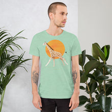 Load image into Gallery viewer, Giraffe and Sun | Short-Sleeve Unisex T-Shirt-t-shirts-Eggenland