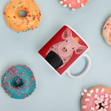 Load image into Gallery viewer, Cool Pig With Tattoos | Red | Mug-mugs-Eggenland