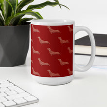 Load image into Gallery viewer, Cute Dachshund Dog | Red | Mug-mugs-Eggenland