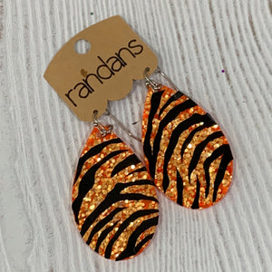 Tiger Large Frameless Dangle