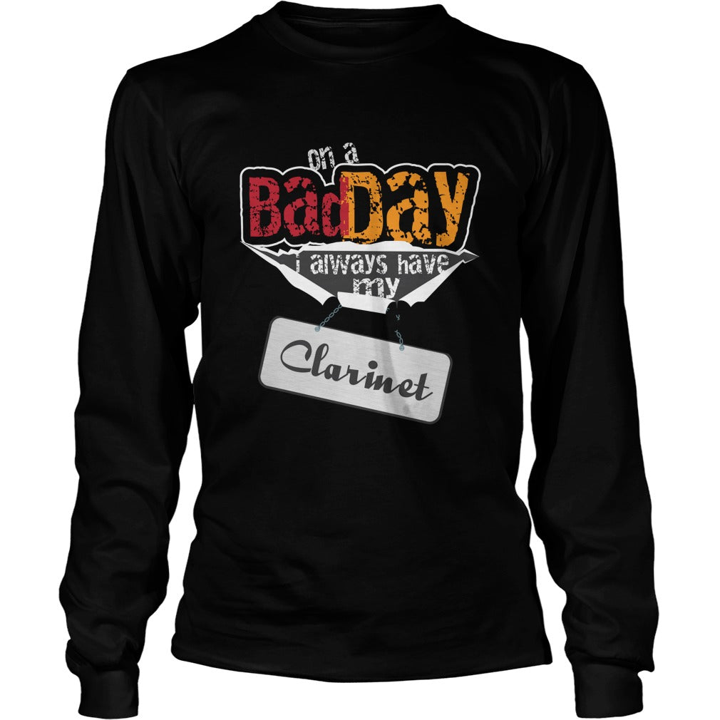 Clarinet Player Unisex Longsleeve T-Shirt