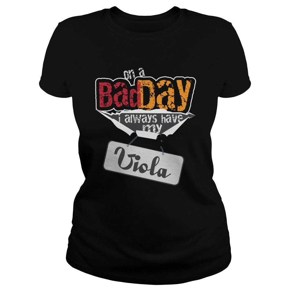 Bad Day Viola Player Women's T-Shirt