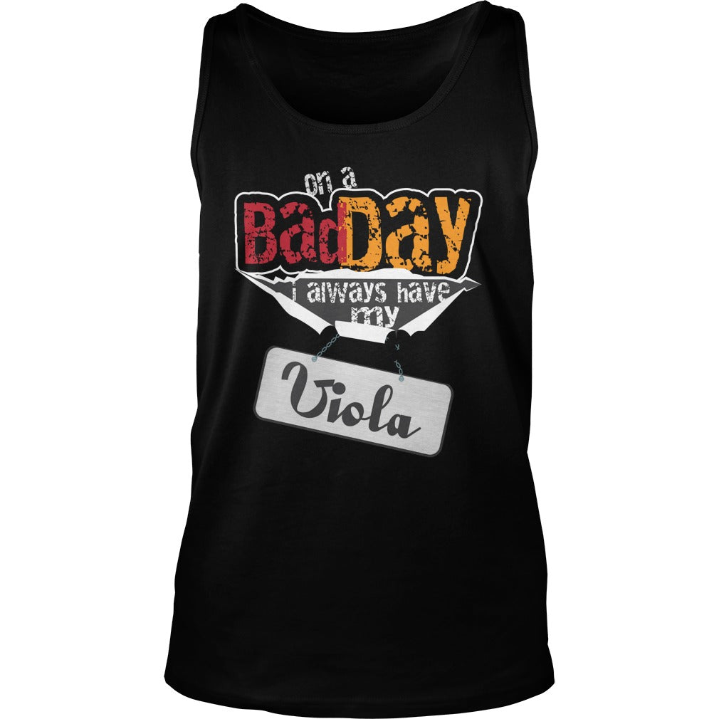 Bad Day Viola Player Unisex Tank Top