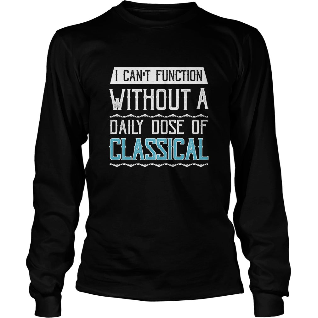 Classical Music Lover Unisex Longsleeve T-Shirt