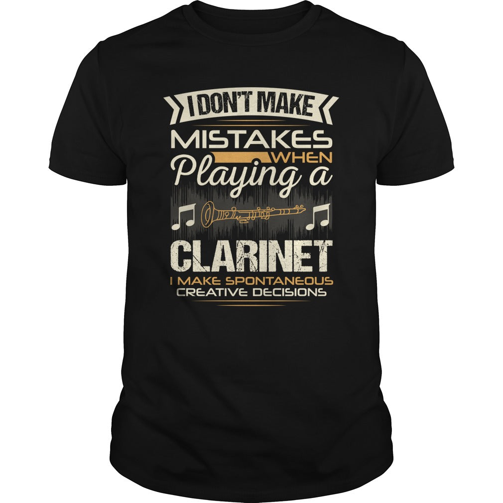 Clarinet Player Men's T-Shirt