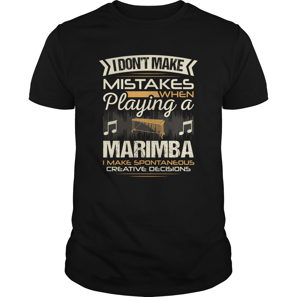 Marimba Player Men's T-shirt