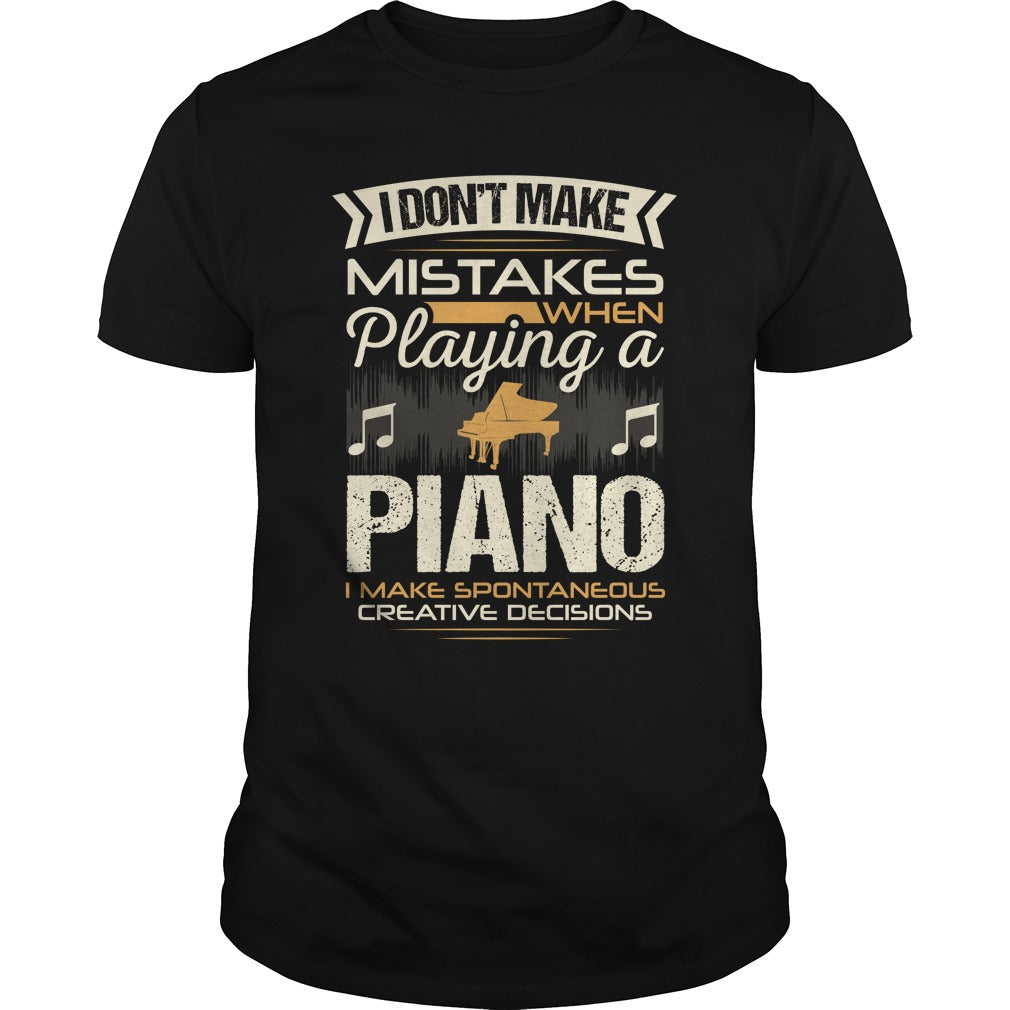 Piano Player Men's T-shirt