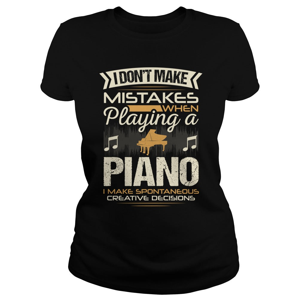Piano Player Women's T-Shirt