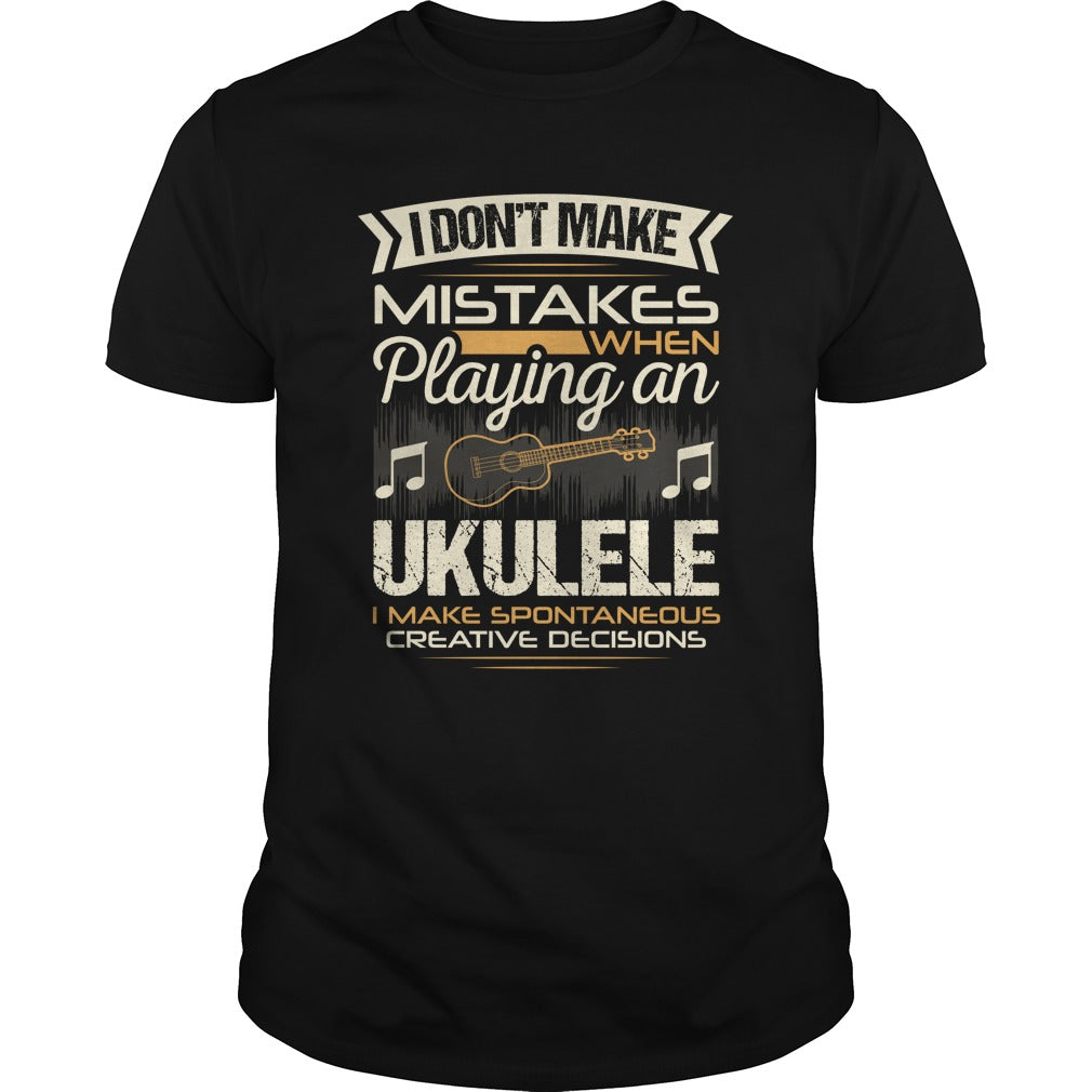 Ukulele Player Men's T-shirt