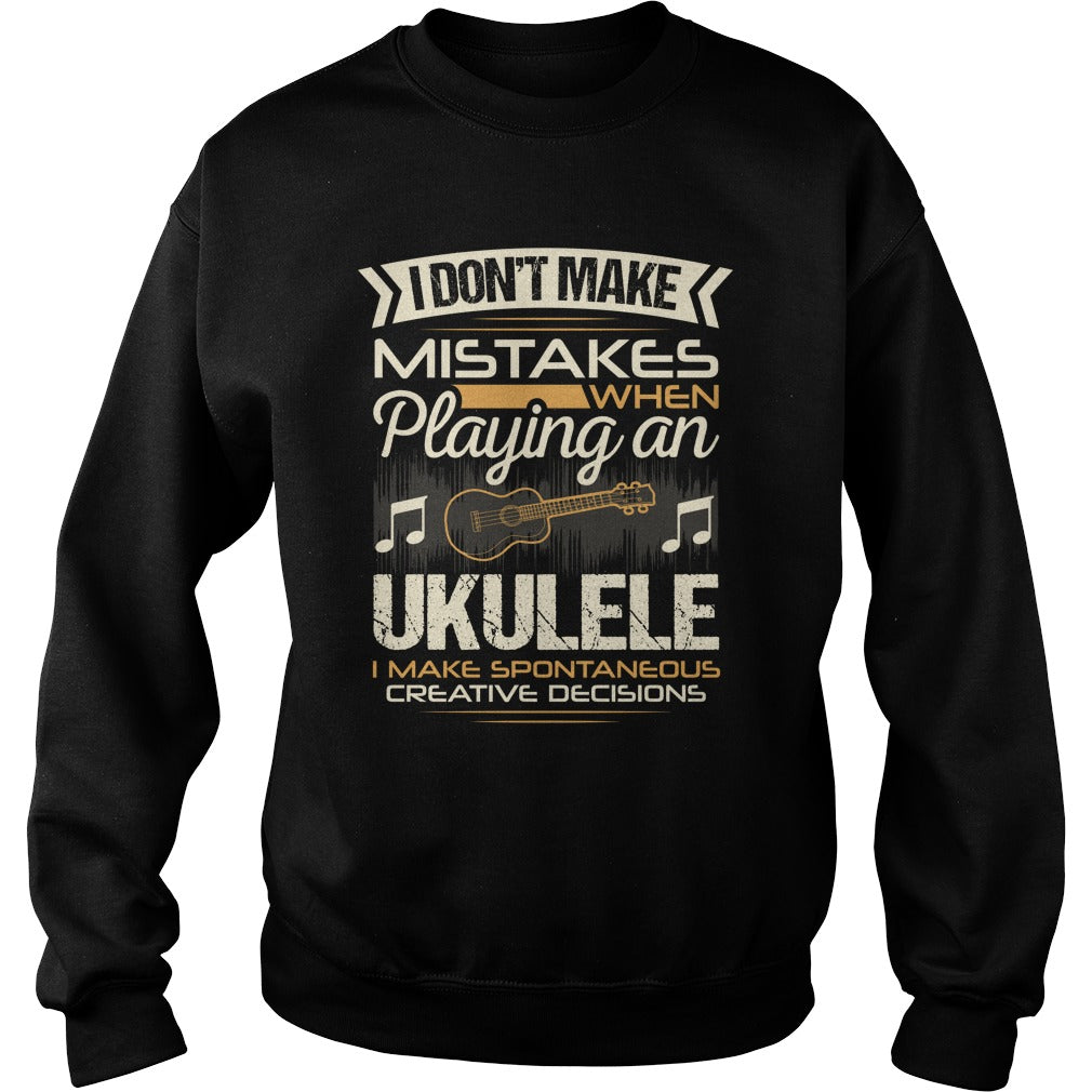 Ukulele Player Sweatshirt