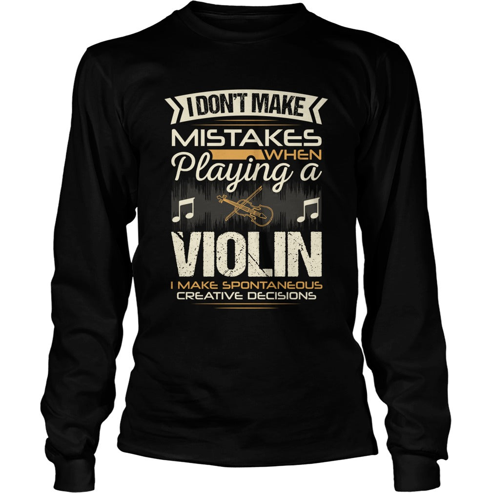 Violin Player Unisex Longsleeve T-Shirt