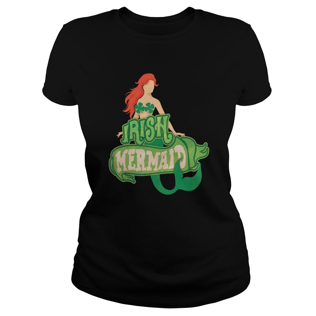 Irish Mermaid Women's T-Shirt
