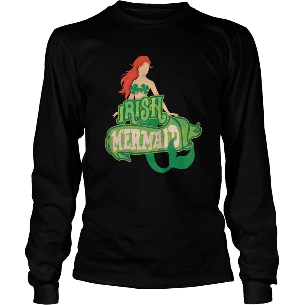 Irish Mermaid Unisex Longsleeve T-Shirt