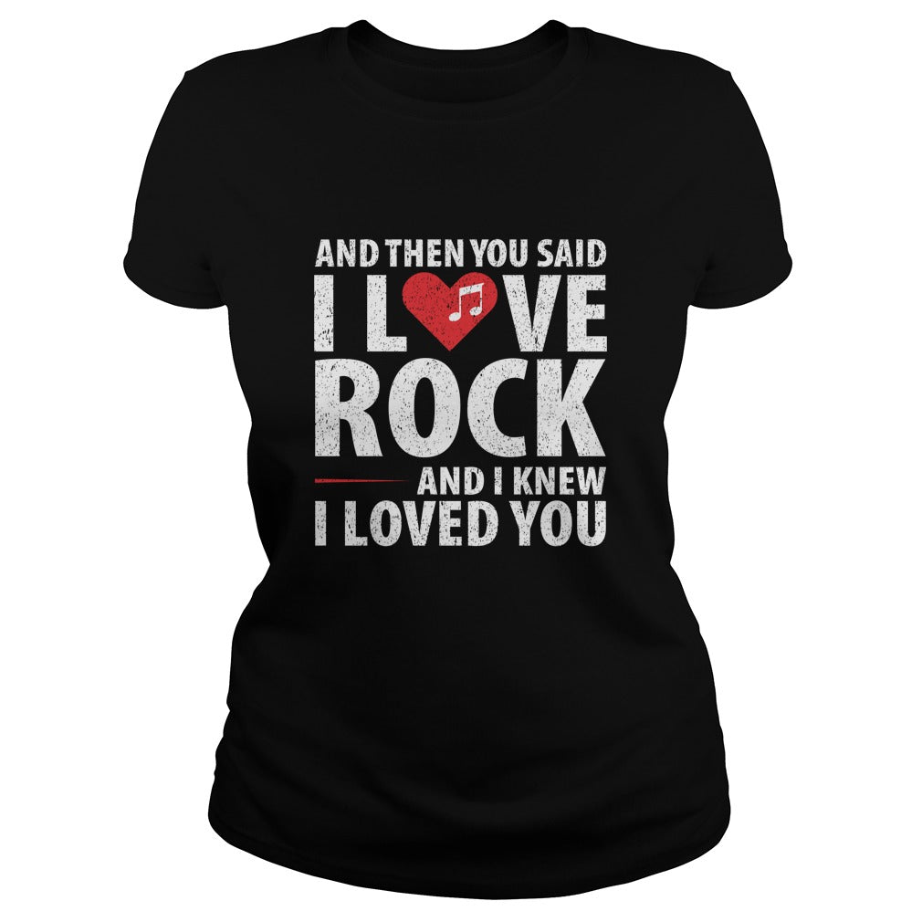 I Love Rock Women's T-Shirt
