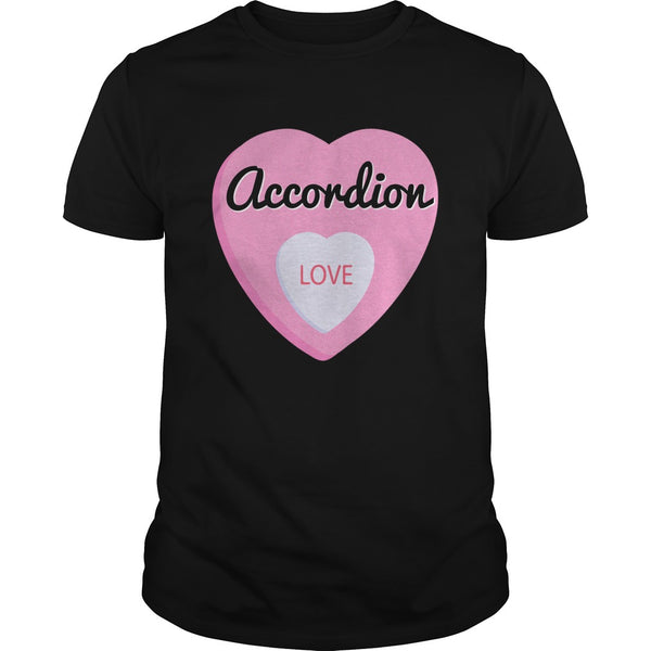 Accordion Love Men's T-Shirt