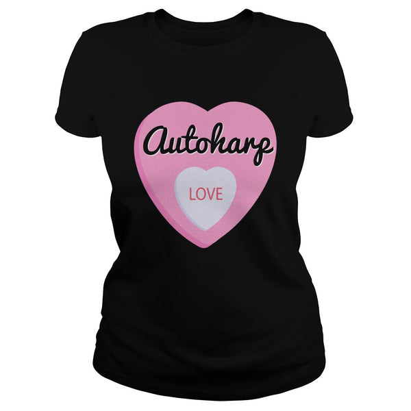 Autoharp Love Men's T-Shirt