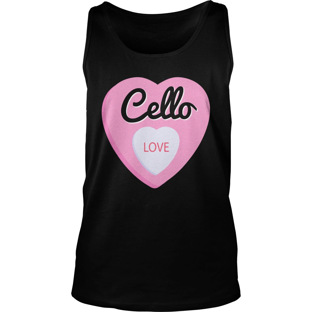 Cello Love Unisex Tank Top