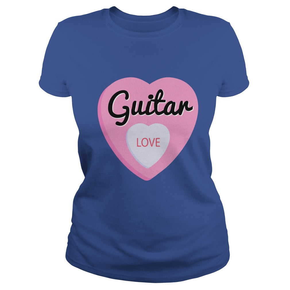 Guitar Love Women's T-Shirt