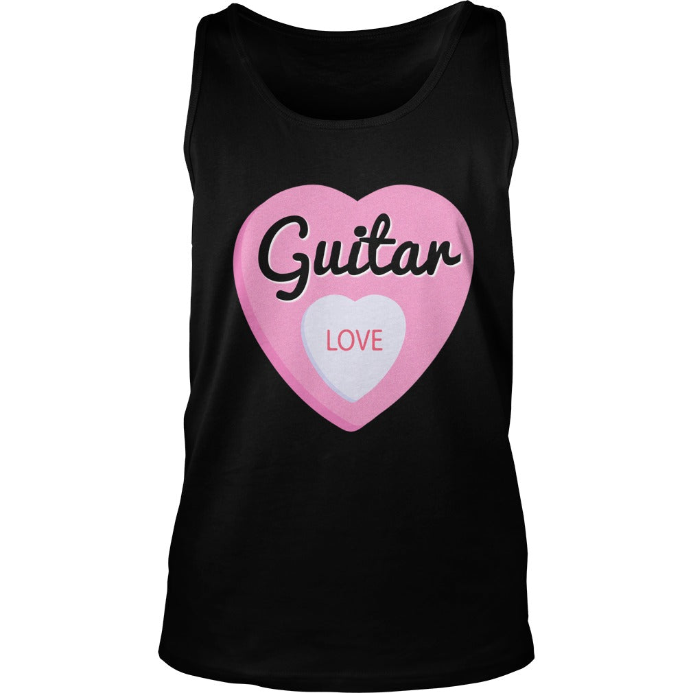 Guitar Love Unisex Tank Top