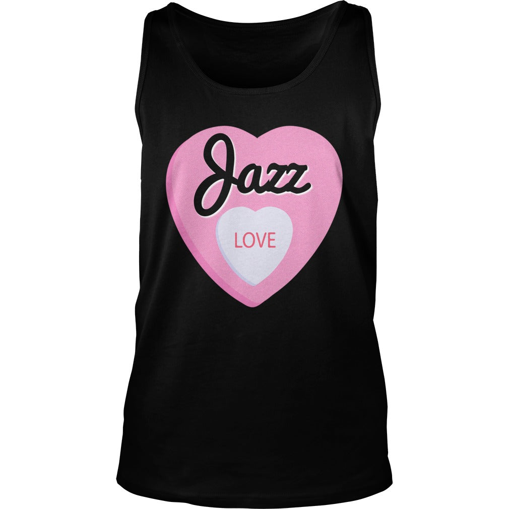 Jazz Love Unisex Tank Top