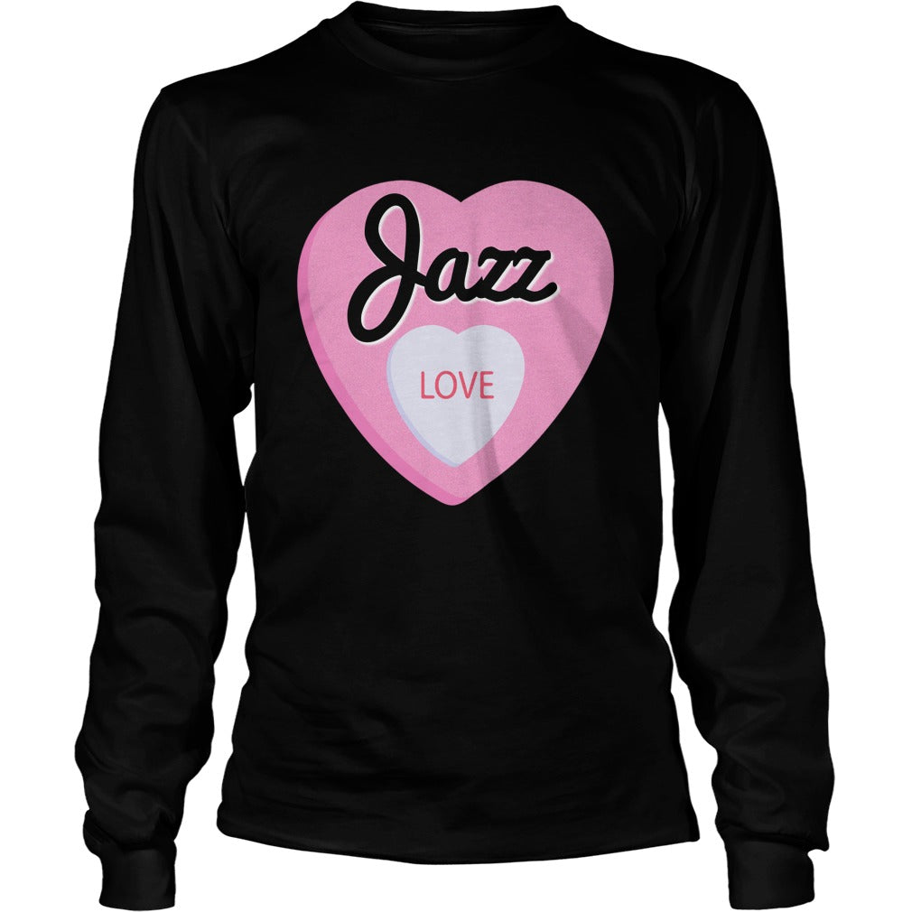 Jazz Love Unisex Longsleeve T-Shirt