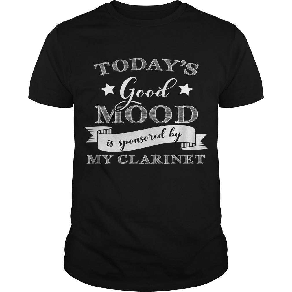 Good Mood Clarinet Player Men's T-Shirt