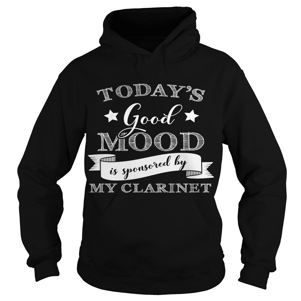 Good Mood Clarinet Player Hoodie
