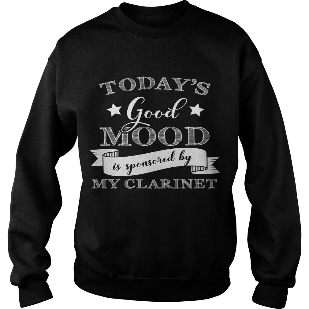 Good Mood Clarinet Player Sweatshirt