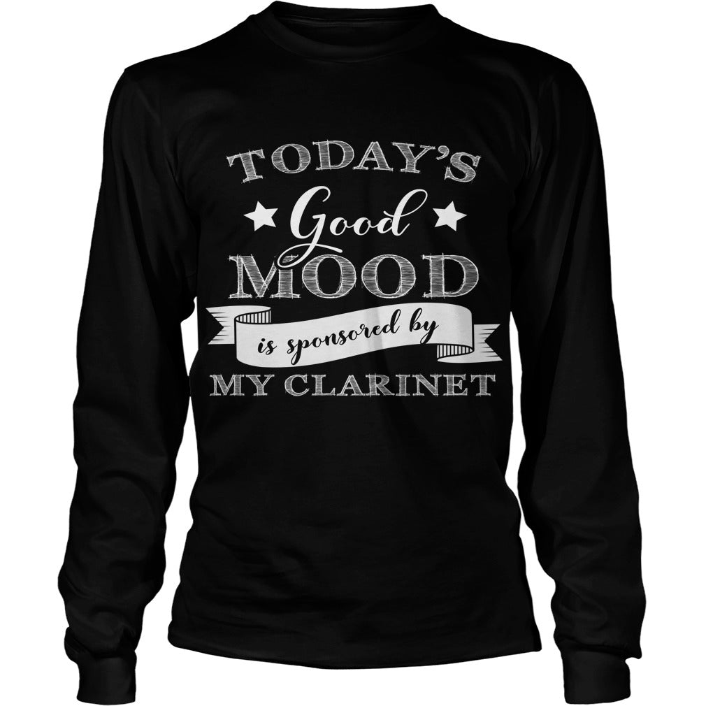 Good Mood Clarinet Player Unisex Longsleeve T-Shirt