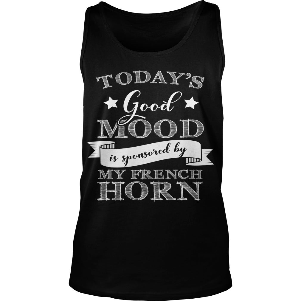Good Mood French Horn Player Unisex Tank Top