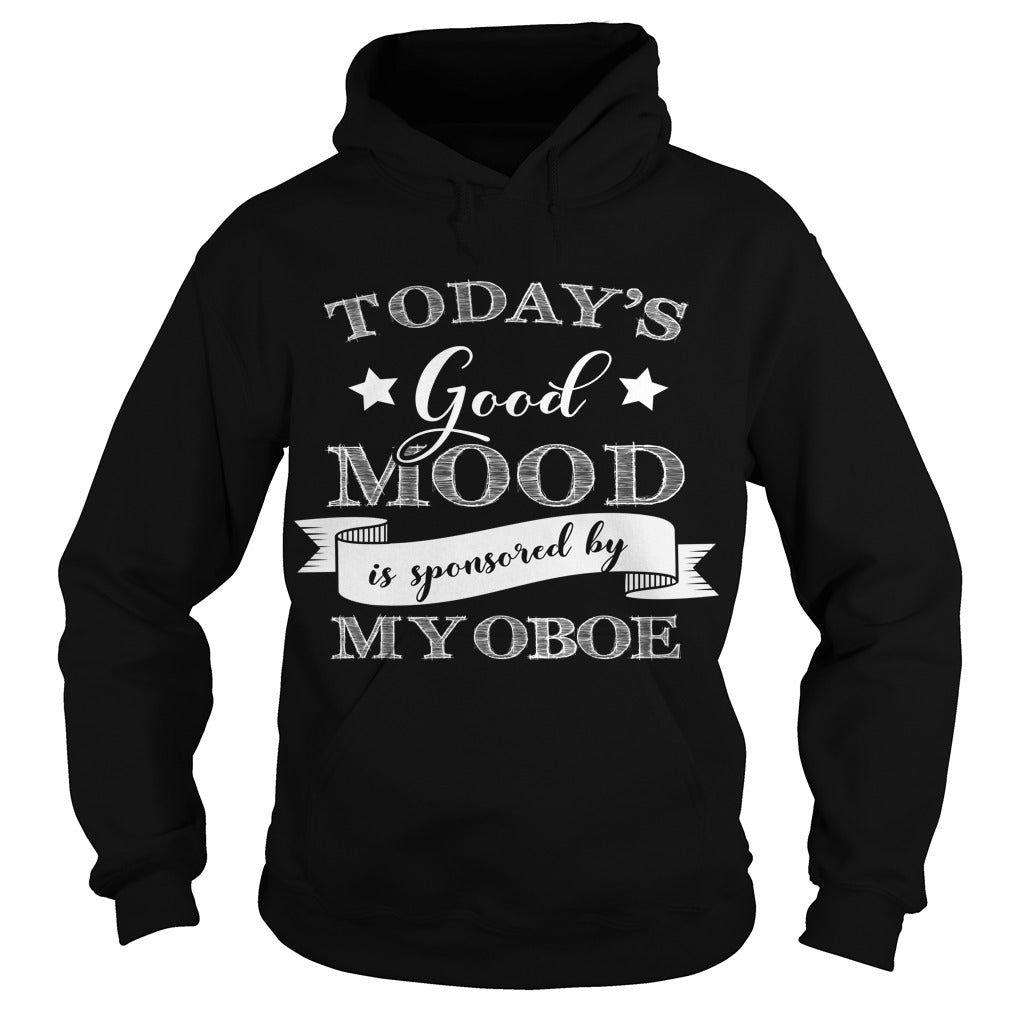 Good Mood Oboe Player Hoodie