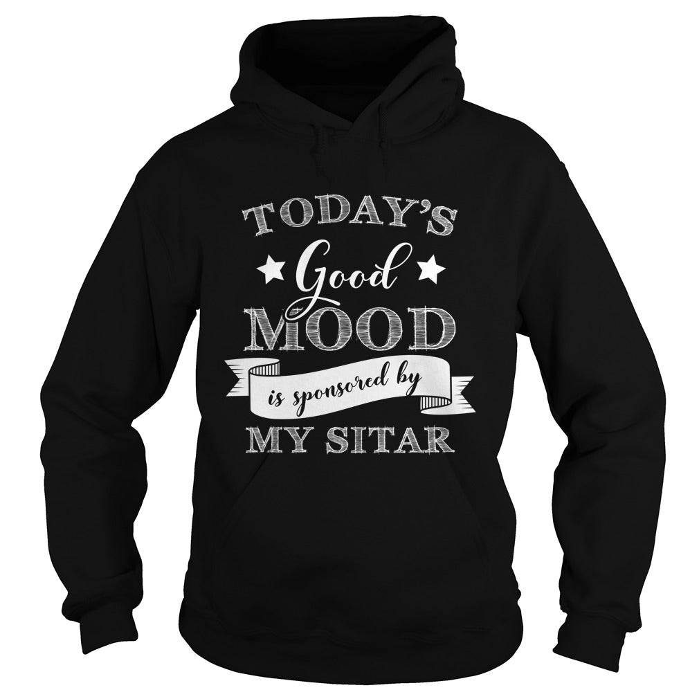 Good Mood Sitar Player Hoodie