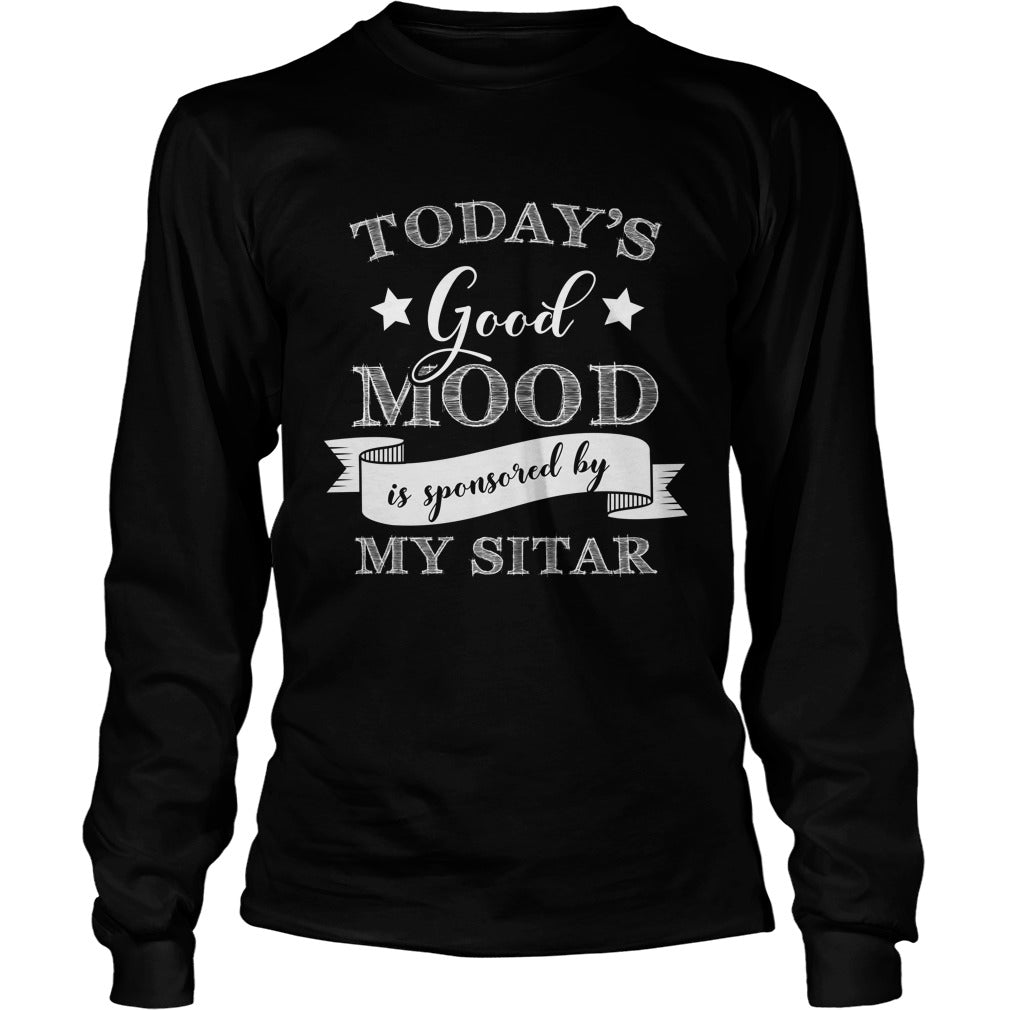 Good Mood Sitar Player Unisex Longsleeve T-Shirt