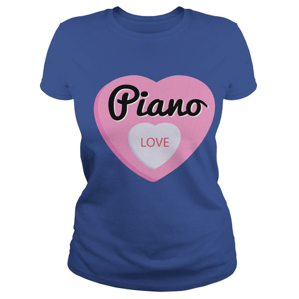 Love Piano Men's T-Shirt