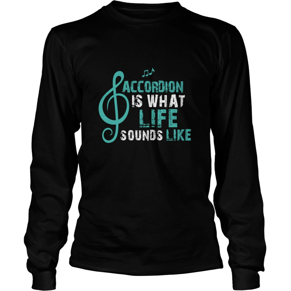 Accordion Life Unisex Longsleeve T-Shirt