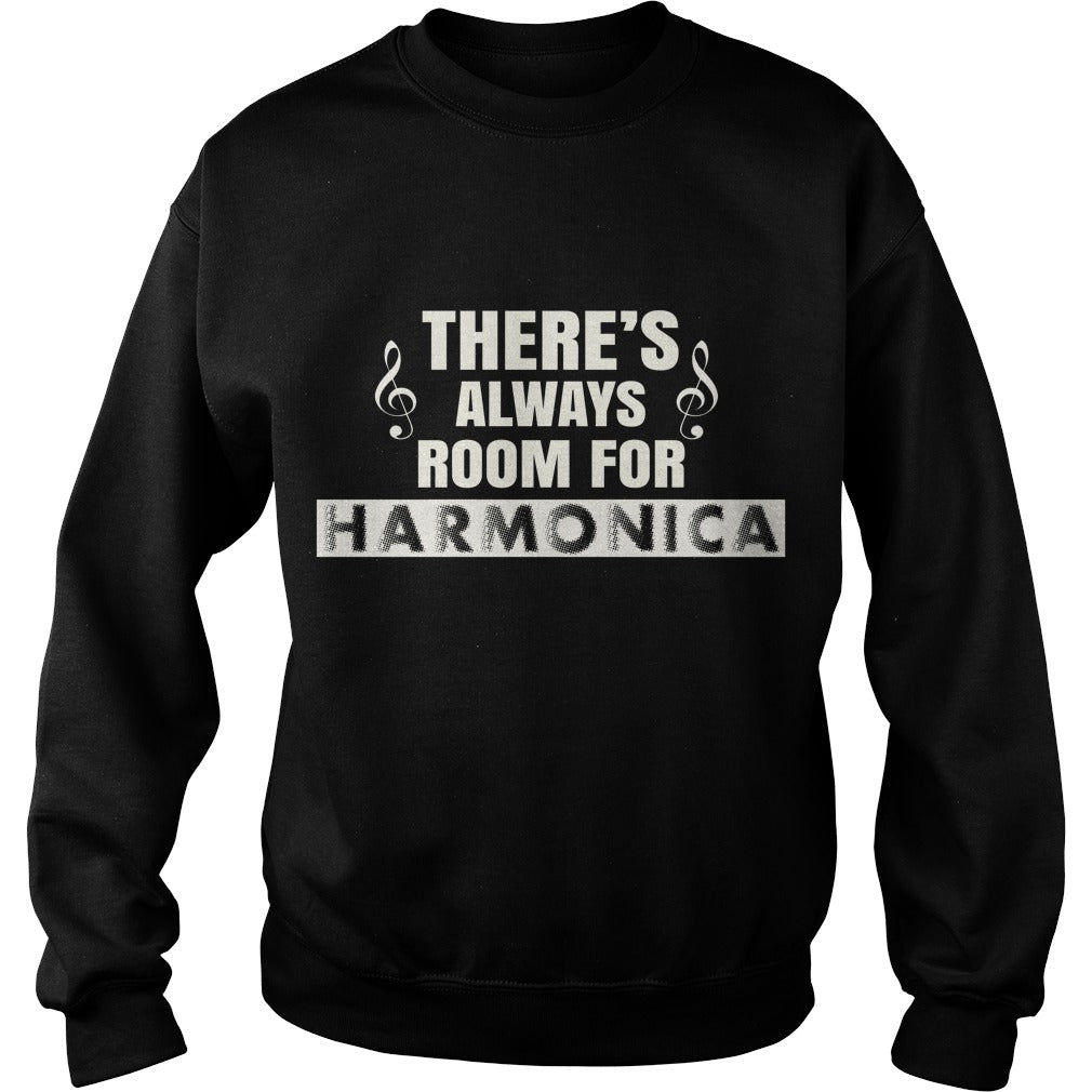 Harmonica Player Sweatshirt