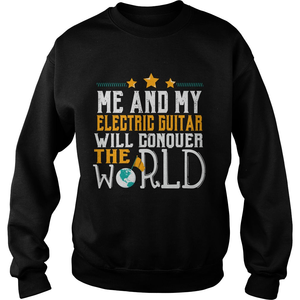 Electric Guitar World Sweatshirt