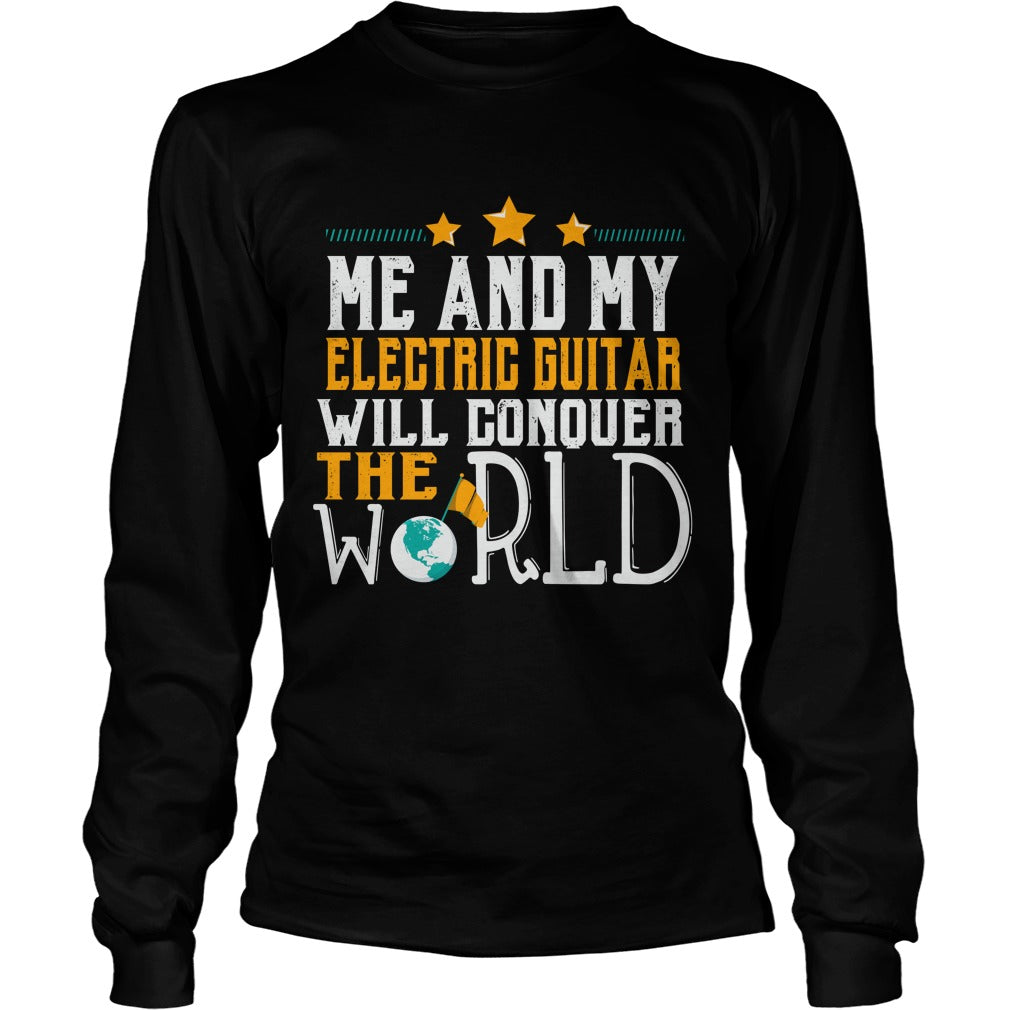Electric Guitar World Unisex Longsleeve T-Shirt