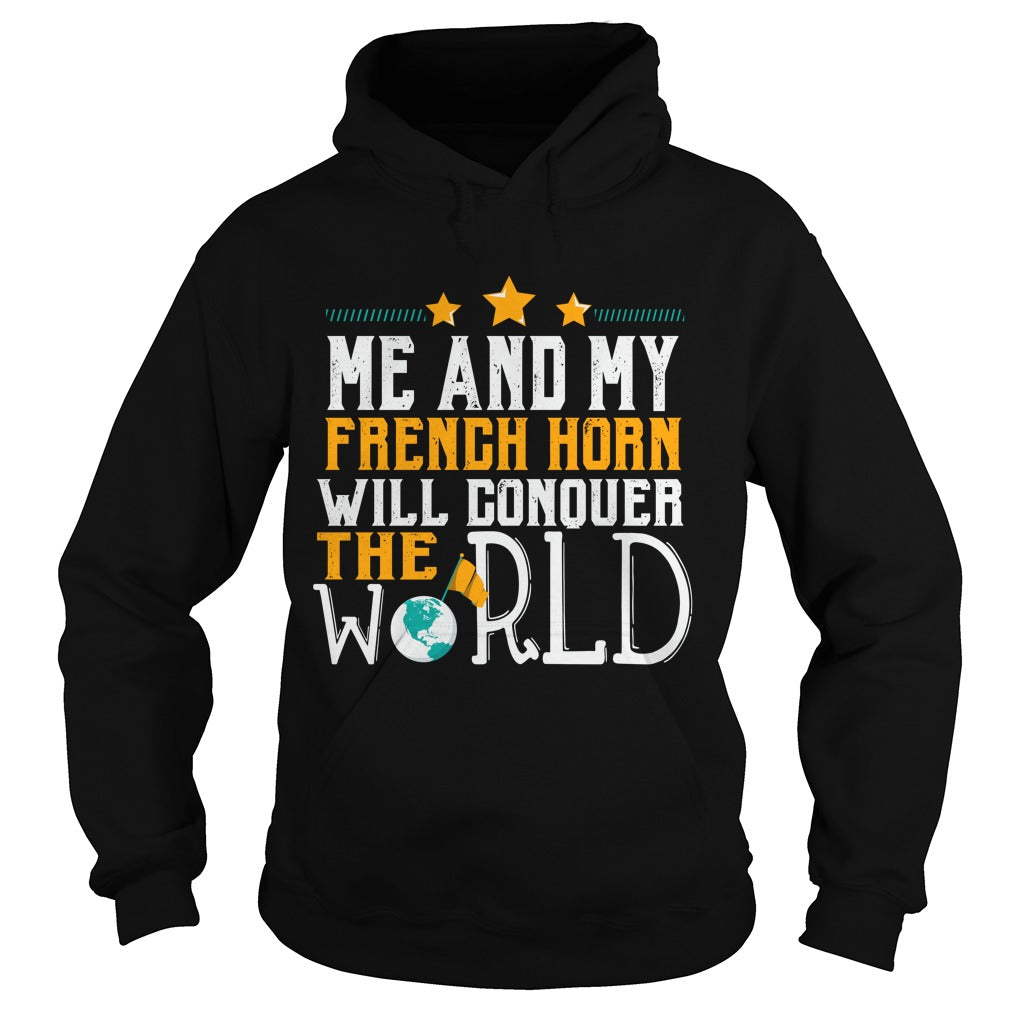 French Horn World Hoodie