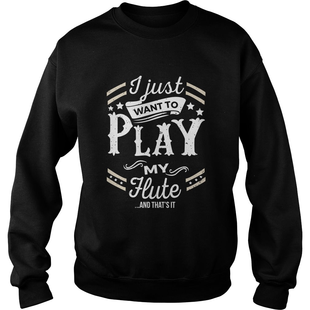 flute Play World Sweatshirt