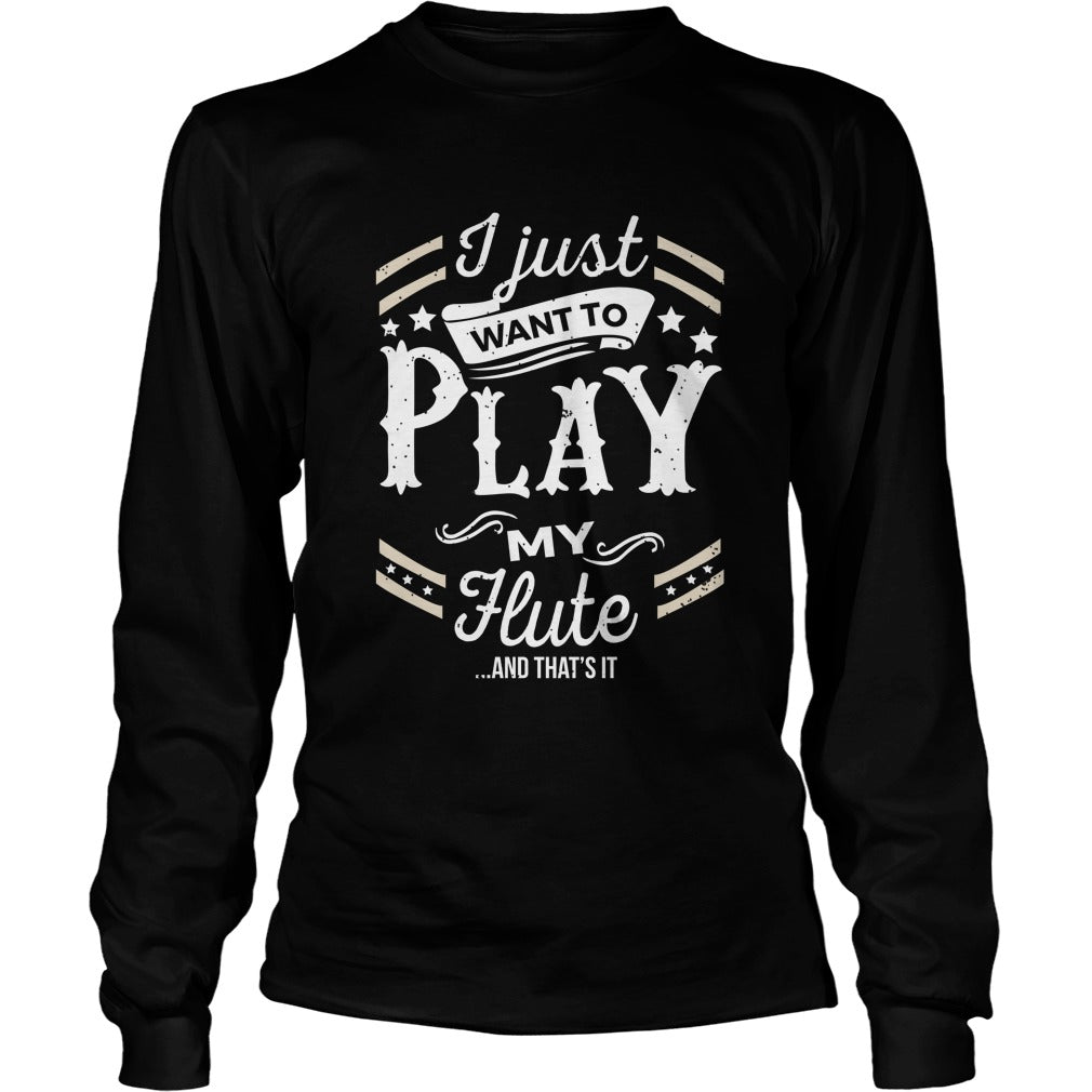 flute Play World Unisex Longsleeve T-Shirt